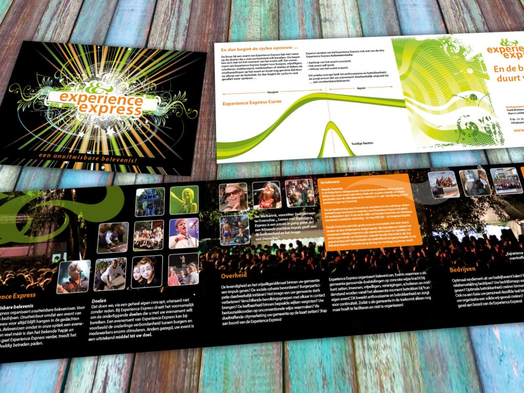 Brochures Experience Express