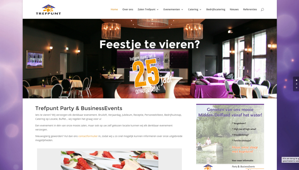 Website Trefpunt & Partners