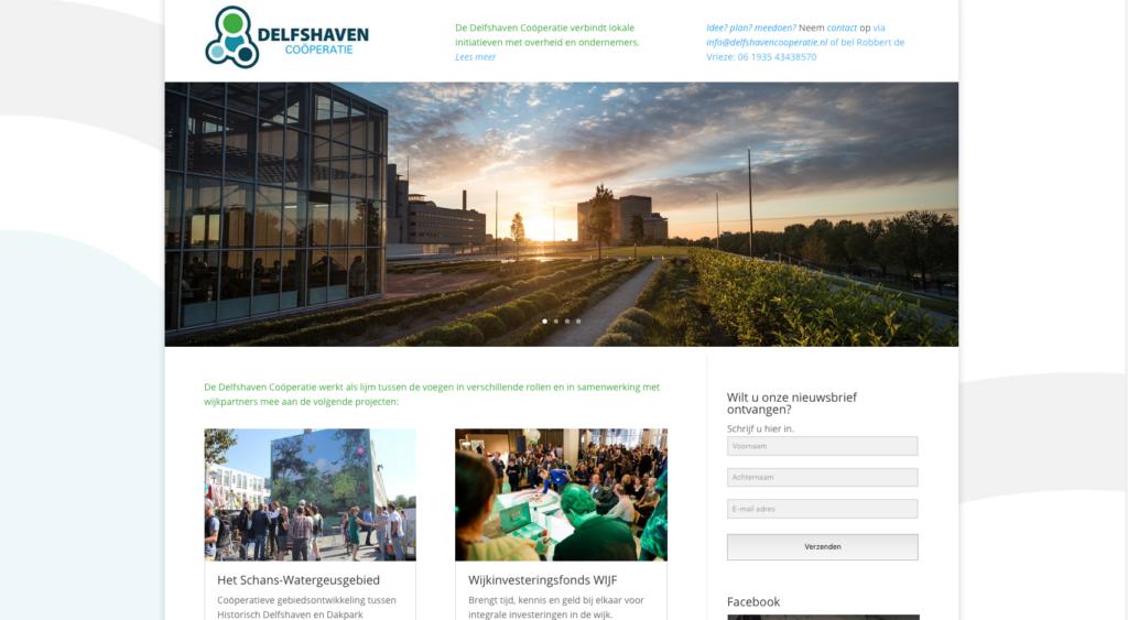 Website Delfshaven Coöperatie